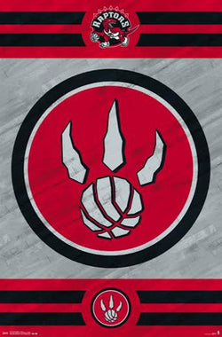 Toronto Raptors NBA Basketball Official Team Logo Poster - Costacos 2014