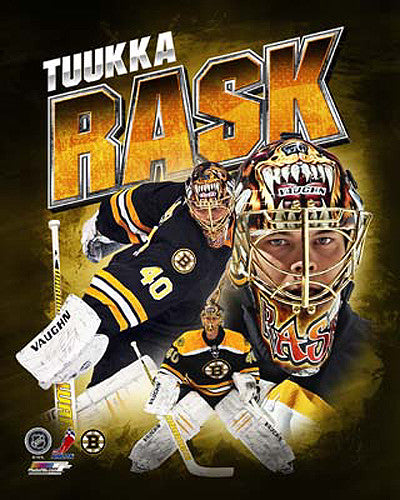"Tuukka Rask ""Superstar"" Boston Bruins Premium Poster Print - Photofile 16x20"