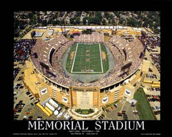 Baltimore Ravens Memorial Stadium (1996) Premium Poster Print - Aerial Views