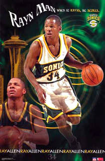 "Ray Allen ""Rayn Man"" - Starline 2003"