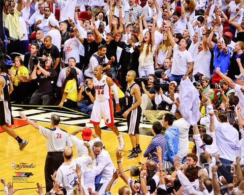 "Ray Allen ""The Shot"" (2013 NBA Finals Game 6) Premium Poster Print - Photofile 16x20"