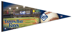 "Tampa Bay Rays ""Game Night"" Oversized Premium Pennant"