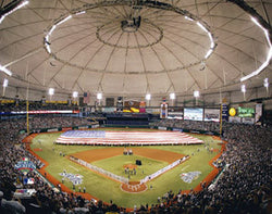 Tropicana Field World Series Game Night (2008) Premium Poster Print - Photofile 16x20