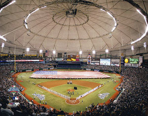 Tropicana Field World Series Game Night (2008) - Photofile 16x20