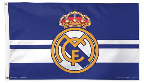 Real Madrid C.F. Official La Liga Soccer DELUXE 3'x5' Team Flag - Wincraft Inc.