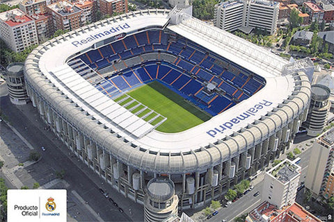 Estadio Santiago Bernabeu (Real Madrid Stadium) - G.E. (Spain) 2010