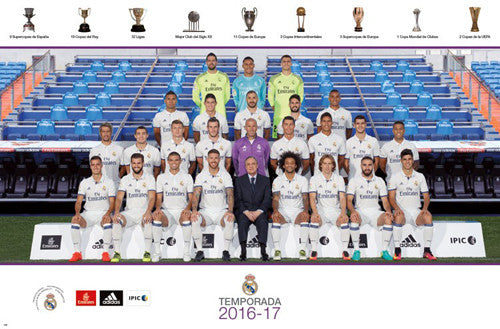 Real Madrid CF Official Team Portrait 2016/17 Poster - Trends International