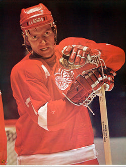 "Red Berenson ""Prime"" Detroit Red Wings NHL Action Poster - Sports Posters Inc. 1973"