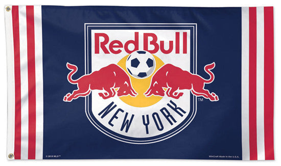 New York Red Bull Official MLS Soccer DELUXE 3' x 5' Flag - Wincraft Inc.