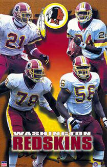 "Washington Redskins ""Four Stars"" (2000) - Starline Inc."