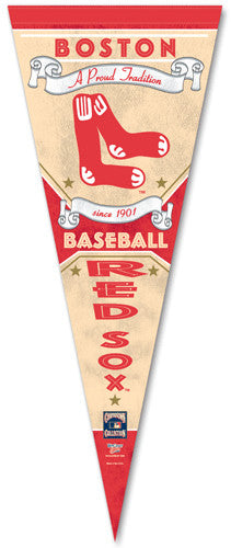 "Boston Red Sox ""Since 1901"" Premium Pennant - Wincraft Inc."