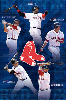 "Boston Red Sox ""Heart"" (2010) - Costacos Sports"