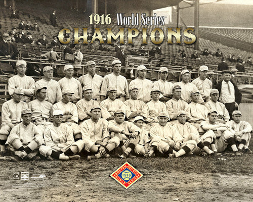 Boston Red Sox 1916 World Series Champions Team Portrait Premium Poster Print - Photofile Inc.