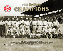 Boston Red Sox 1918 World Series Champions Premium Poster Print - Photofile Inc.