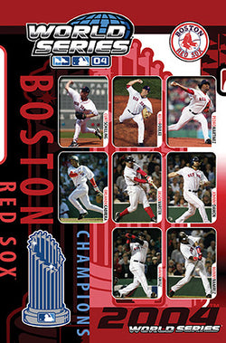 Boston Red Sox 2004 World Series Champions Commemorative Poster - Costacos Sports