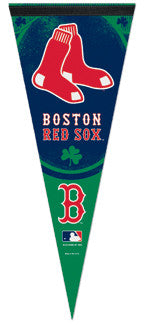 "Boston Red Sox ""Clover"" Premium Felt Pennant - Wincraft"