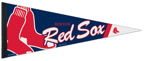 Boston Red Sox Official MLB Baseball Team Logo-Style Premium Felt PENNANT - Wincraft Inc.