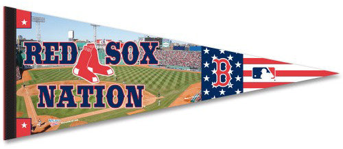 "Boston Red Sox Fenway Park ""Red Sox Nation"" Premium Baseball Pennant - Wincraft Inc."