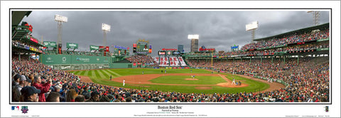 "Boston Red Sox ""Farewell at Fenway"" (Big Papi's Final RS Game) Panoramic Poster Print - E.I. 2016"