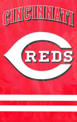 Cincinnati Reds Official Team Applique Banner - Party Animal