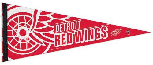 Detroit Red Wings Official NHL Hockey Premium Felt Pennant - Wincraft
