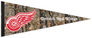 "Detroit Red Wings ""Backwoods"" Premium Felt Pennant - Wincraft Inc."