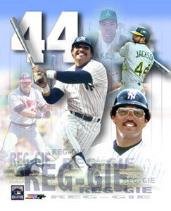 "Reggie Jackson ""44 Forever"" New York Yankees Premium Poster Print - Photofile Inc."
