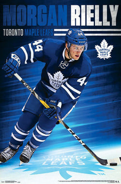 "Morgan Rielly ""Superstar"" Toronto Maple Leafs NHL Hockey POSTER - Trends 2016"