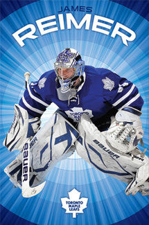 "James Reimer ""Stopper"" Toronto Maple Leafs Poster - Costacos 2011"