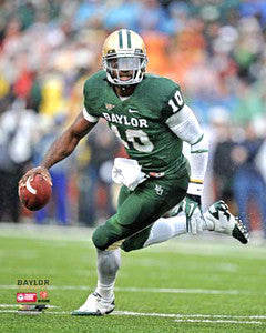 "Robert Griffin III ""Baylor Action"" (2011) Baylor University Bears Premium Poster Print - Photofile 16x20"