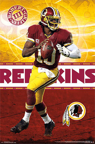 "Robert Griffin III ""Superstar"" Washington Redskins NFL Poster - Costacos 2013"