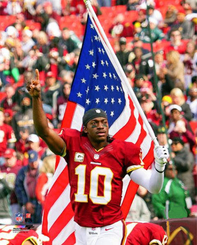 "Robert Griffin III ""Proud American"" (2012) Redskins Premium Poster Print - Photofile 16x20"