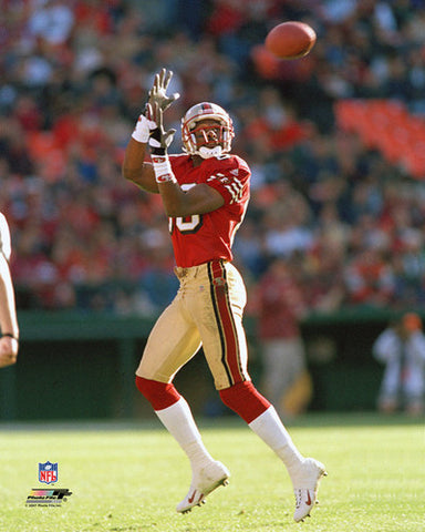 "Jerry Rice ""The Receiver"" (c.1990) San Francisco 49ers Premium Poster Print - Photofile Inc."