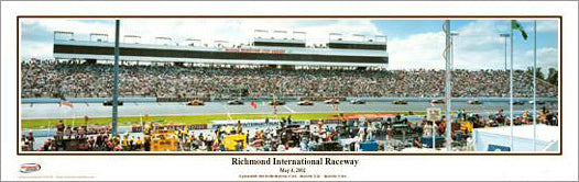Richmond International Raceway NASCAR Raceday Panoramic Poster Print - Everlasting Images