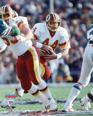 "John Riggins ""MVP"" Washington Redskins Super Bowl XVII (1983) Premium Poster Print - Photofile"