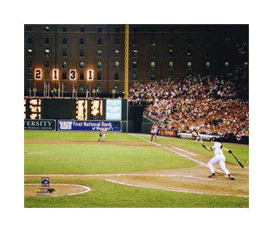 "Cal Ripken Jr. ""History"" (9-6-1995) Giclee-on-Canvas - Photofile"