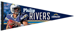 "Philip Rivers ""Superstar"" Premium NFL Felt Collector's Pennant (2012) - Wincraft"