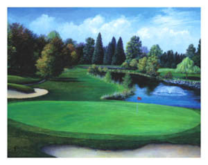 """The 17th at Riverside"" - Bentley House 2001"
