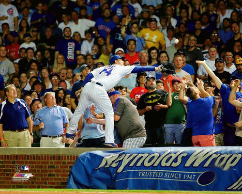 "Anthony Rizzo ""The Catch"" (2016) Chicago Cubs Premium MLB Poster Print - Photofile 16x20"