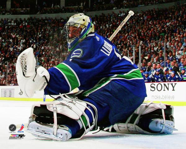 "Roberto Luongo ""Glove Save Classic"" (2011) Vancouver Canucks Goalie Premium Poster Print - Photofile Inc."