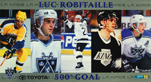 Luc Robitaille 500th Goal Commemorative (1999) - LA Kings