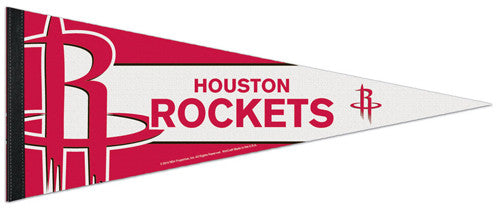 Houston Rockets Official NBA Basketball Premium Felt Pennant - Wincraft Inc.