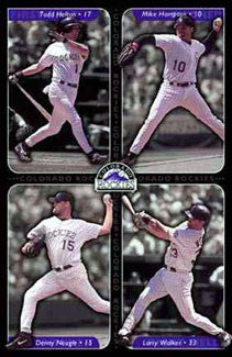 "Colorado Rockies ""Four Stars"" - Costacos 2001"