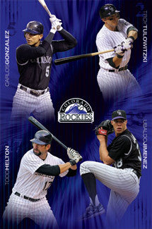 "Colorado Rockies ""Superstars"" (2011) - Costacos Sports"