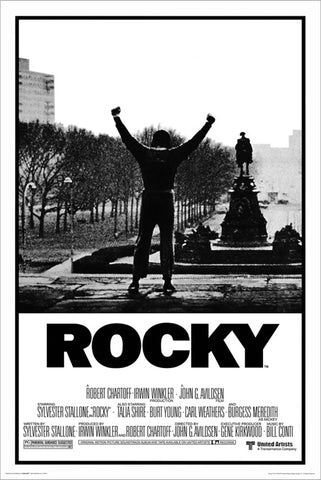 Rocky (1976) Boxing Movie Poster Reproduction - Import Images