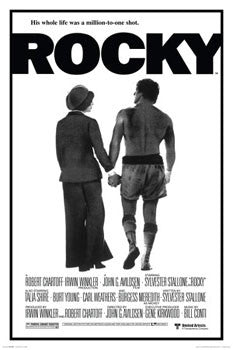 "Rocky I (1976) ""Hands"" Movie Poster Reprint - Culturenik"