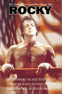 "Rocky I Movie Poster (""Flag"") - Import Images"
