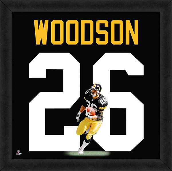"Rod Woodson ""Number 26"" Pittsburgh Steelers FRAMED 20x20 UNIFRAME PRINT - Photofile"