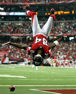 "Roddy White ""Backflip"" Atlanta Falcons Premium Poster Print - Photofile 16x20"