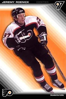 "Jeremy Roenick ""Flyer97"" Philadelphia Flyers NHL Action Poster - Costacos 2002"